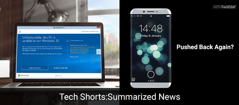 newsletter old pcs won t get windows 10 support no iphone 8 till