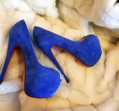 Royal blue highness and fur