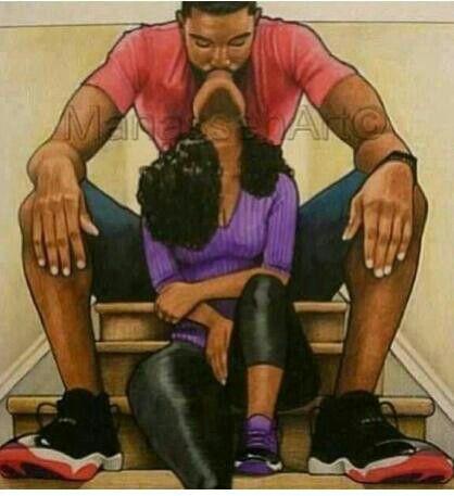 Black Love With Images Black Love Art Black Women Art Black
