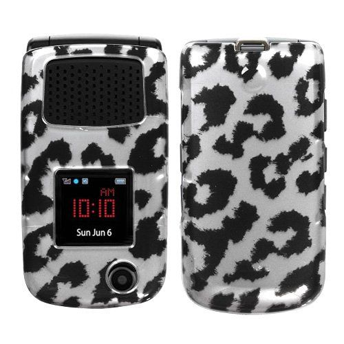 Asmyna Samsung Rugby II Phone Protector Cover - Black Leopard (2D Silver) $0.05