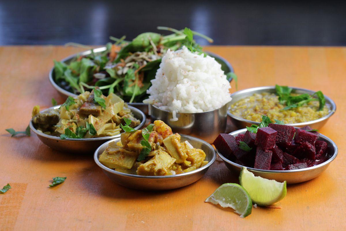 Sri lankan jackfruit curry beet curry leek curry dal curry sri lankan jackfruit curry beet curry leek curry dal curry forumfinder Gallery