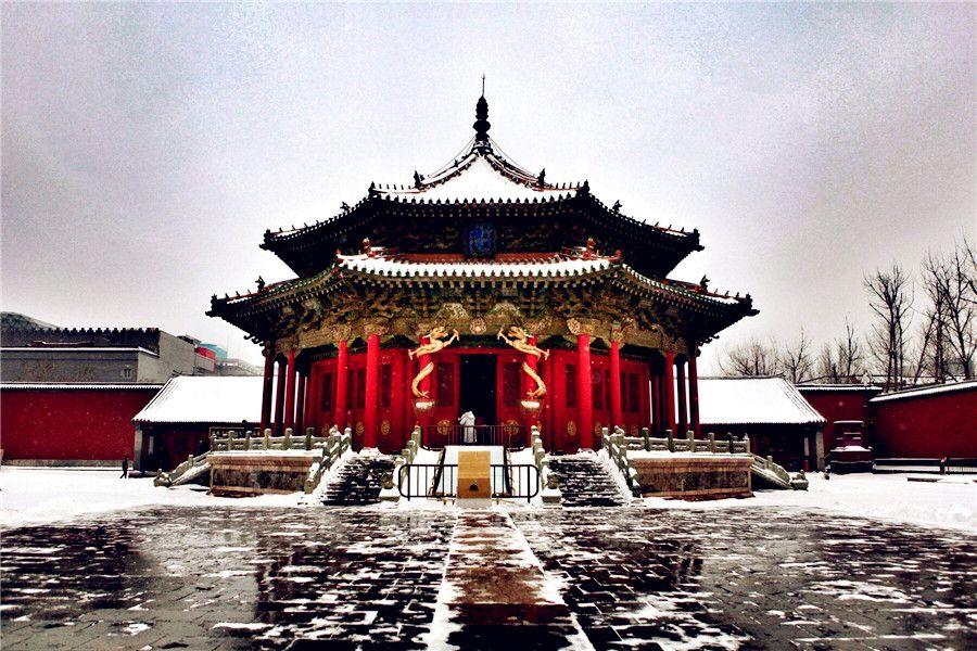 china palace - shenyang imperial palace (mukden palace) 1   chinese