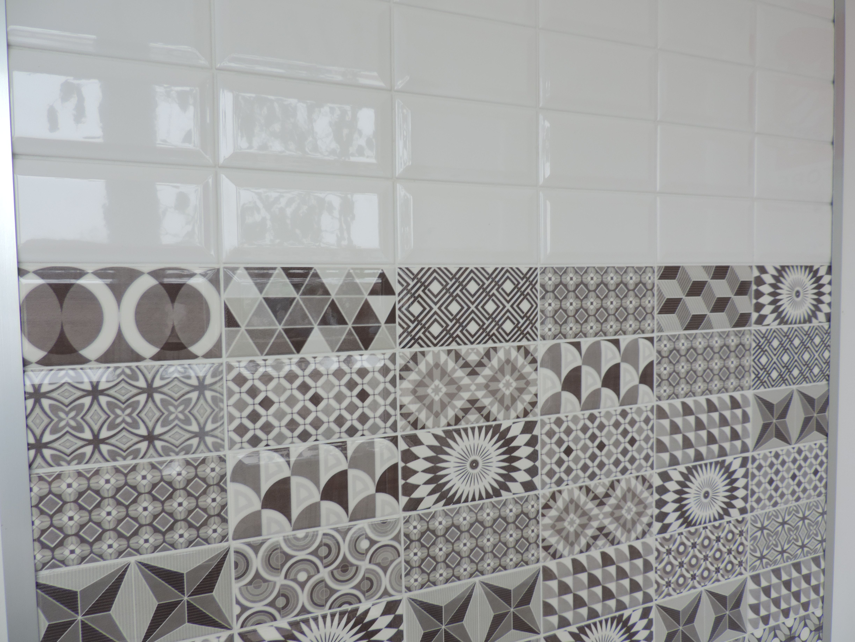 7 5x15 piastrelle diamantate bianche tipo subway metro bahtroom