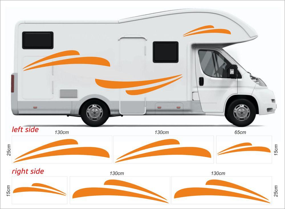Caravane SécuritéCaravaneCaravaneVanPack de 2 Sécurité Autocollants