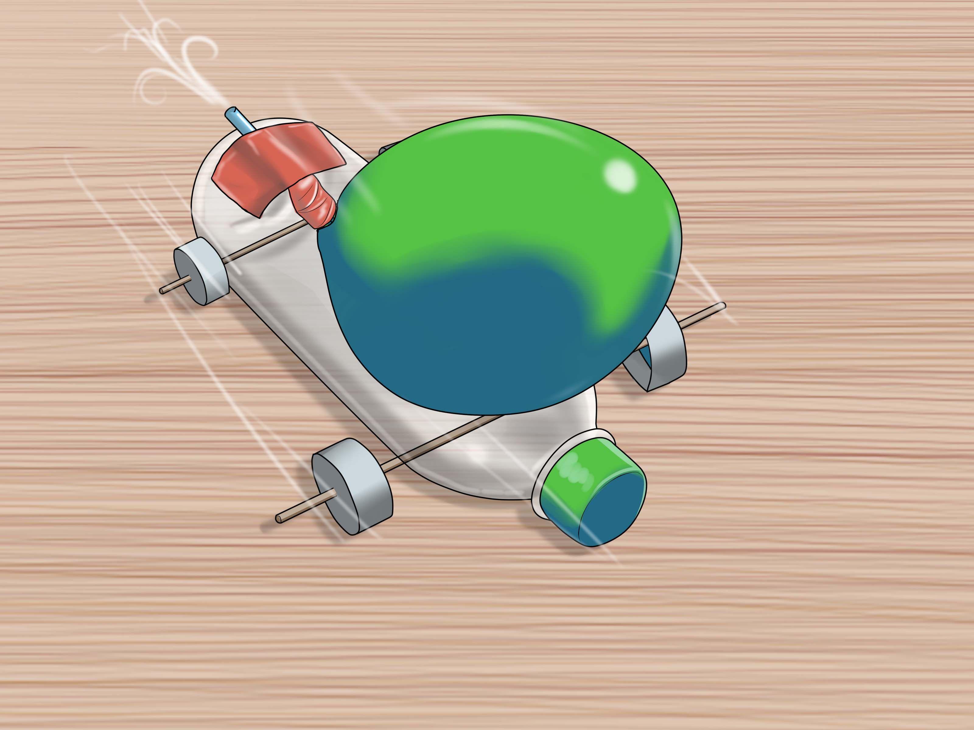 Design of bottle car jack - Make A Balloon Car