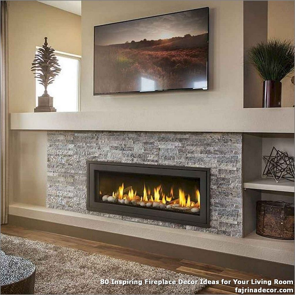 80 Inspiring Fireplace Decor Ideas For Your Living Room Tile