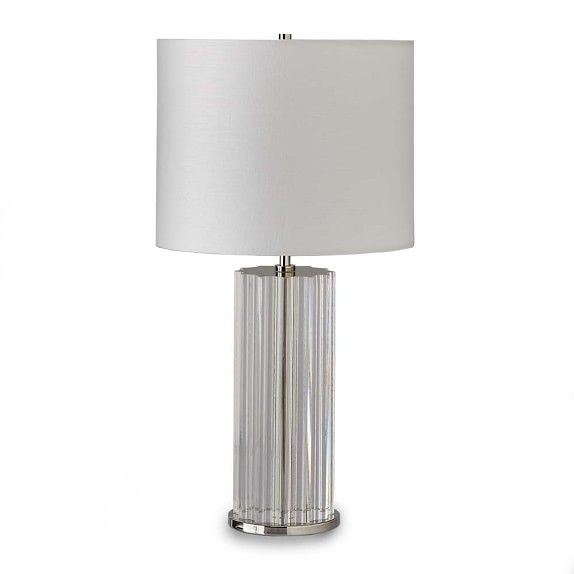 Fluted Crystal Table Lamp Crystal Table Lamps Table Lamp Glass Lamp Base