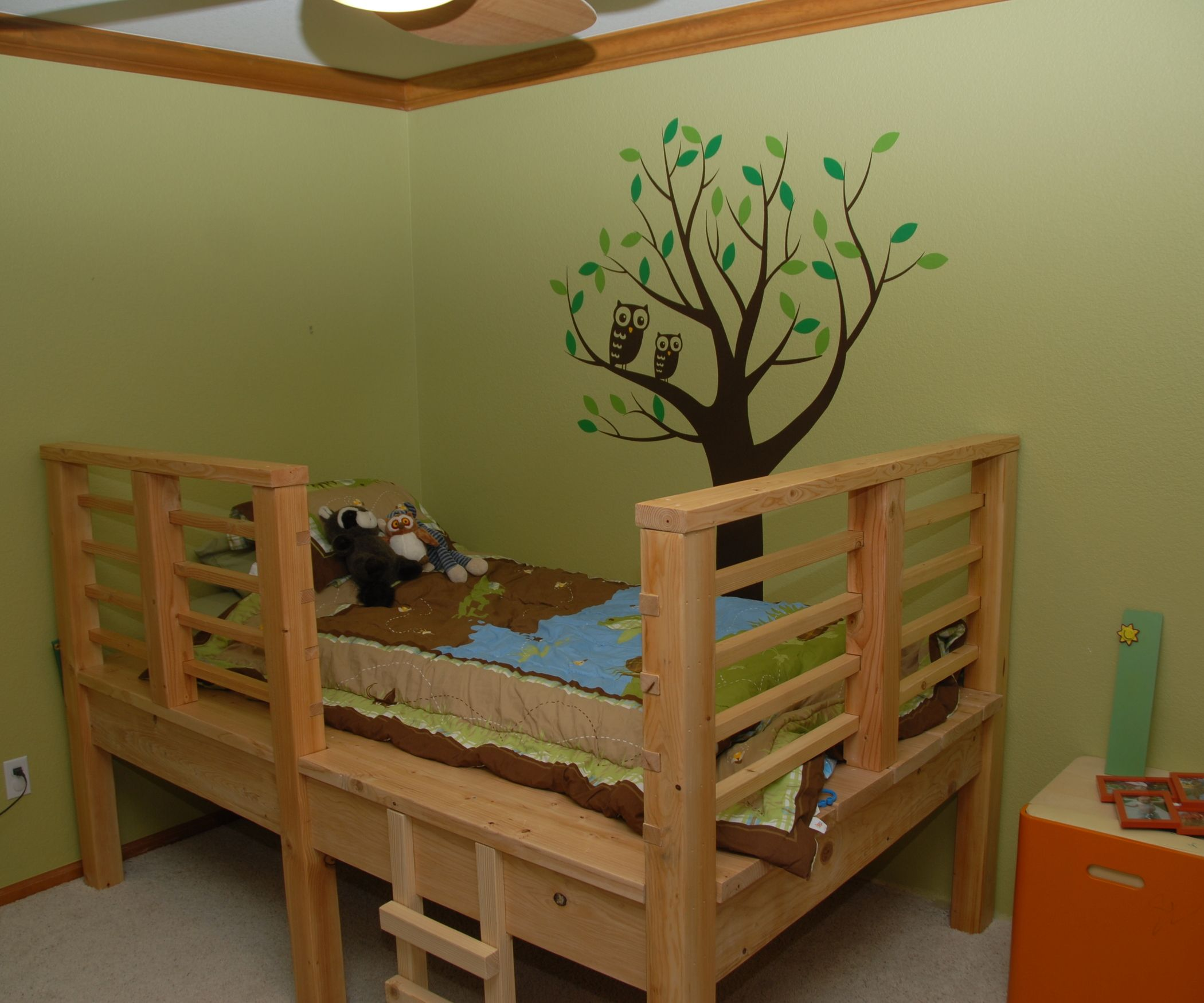Tree House Bed Kid beds, Bed, Kids bedroom