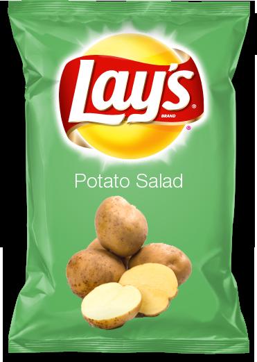 Potato Salad Lays for the Big Game!!