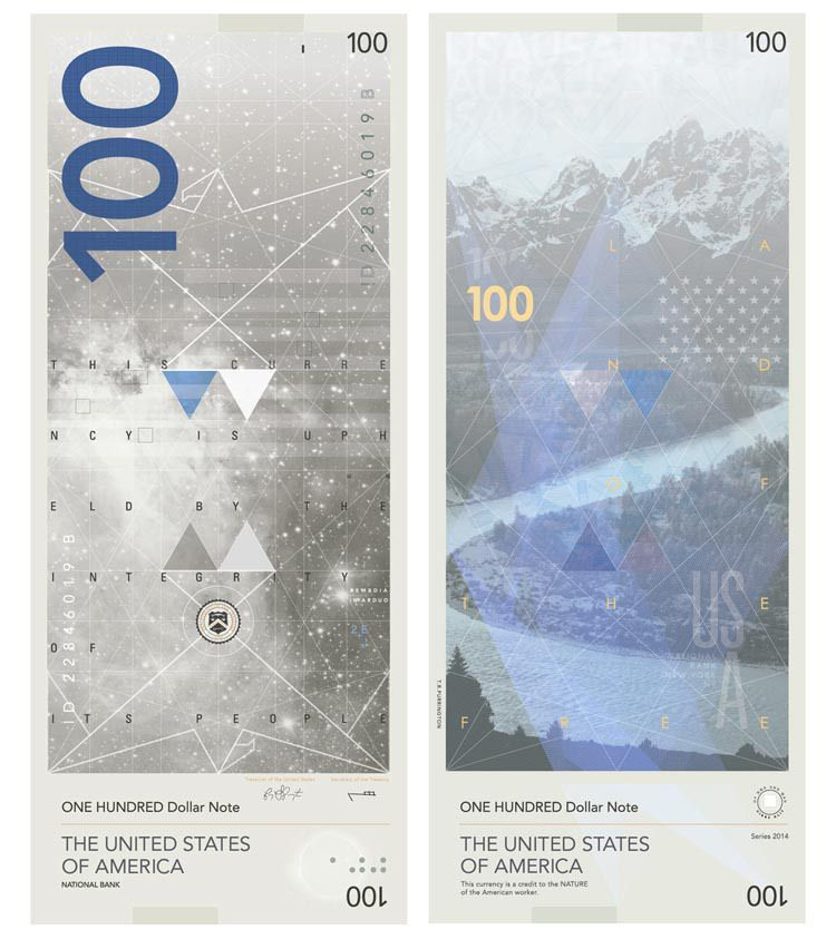 An UltraModern Design Proposal For United States Dollar Banknotes