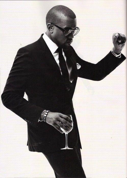 Samuel Pilot Kanye West Has Definitely Got Some Swagger Well Dressed Men Kanye West Style Kanye Fashion