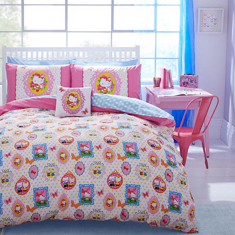 O Kitty By Designers Guild Wonderland Duvet Cover And Pillowcase Set John Lewis Childrens