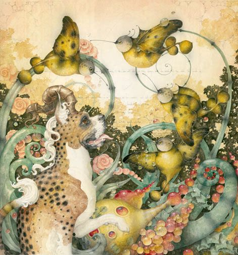 Another beautiful piece by Daniel Merriam. I love his work!
