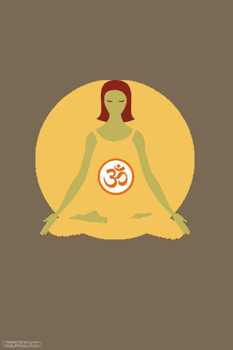 poster preview   Yoga prints   Pinterest