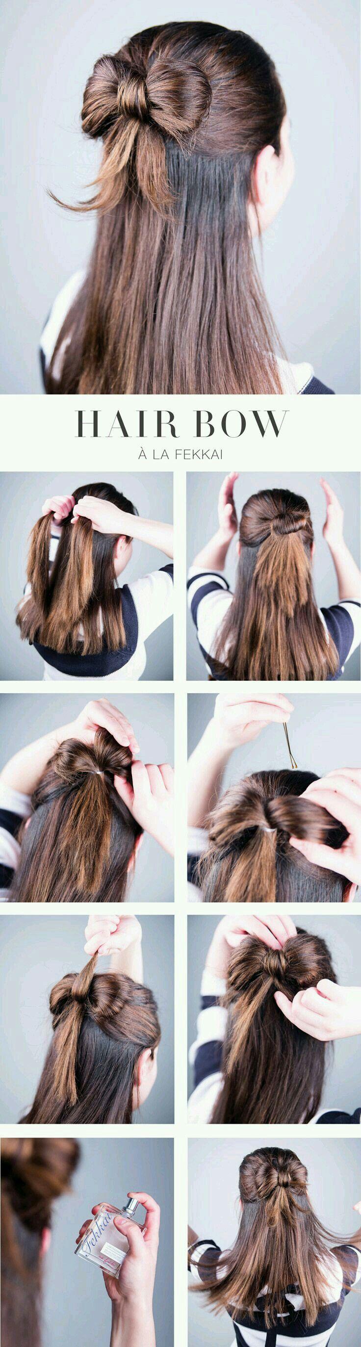 Schleife Hair Hair Penteados Faceis Ideias De Cabelo