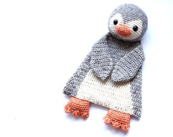 Easy Amigurumi Pdf : Penguin ragdoll crochet amigurumi pattern pdf instant download
