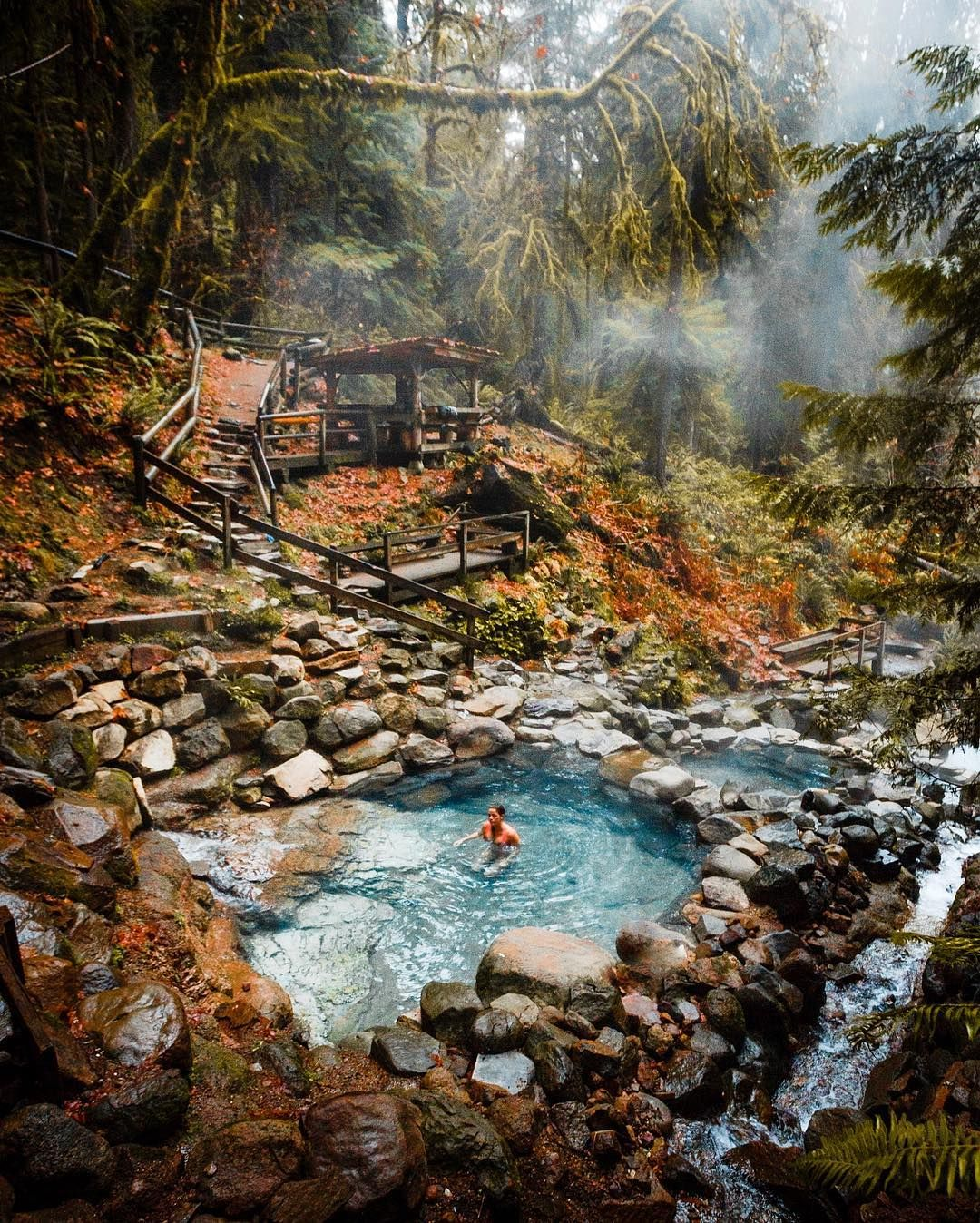 Hot Springs in Oregon, USA - #usatravel roadtrip #traveldestinations | Incredible places