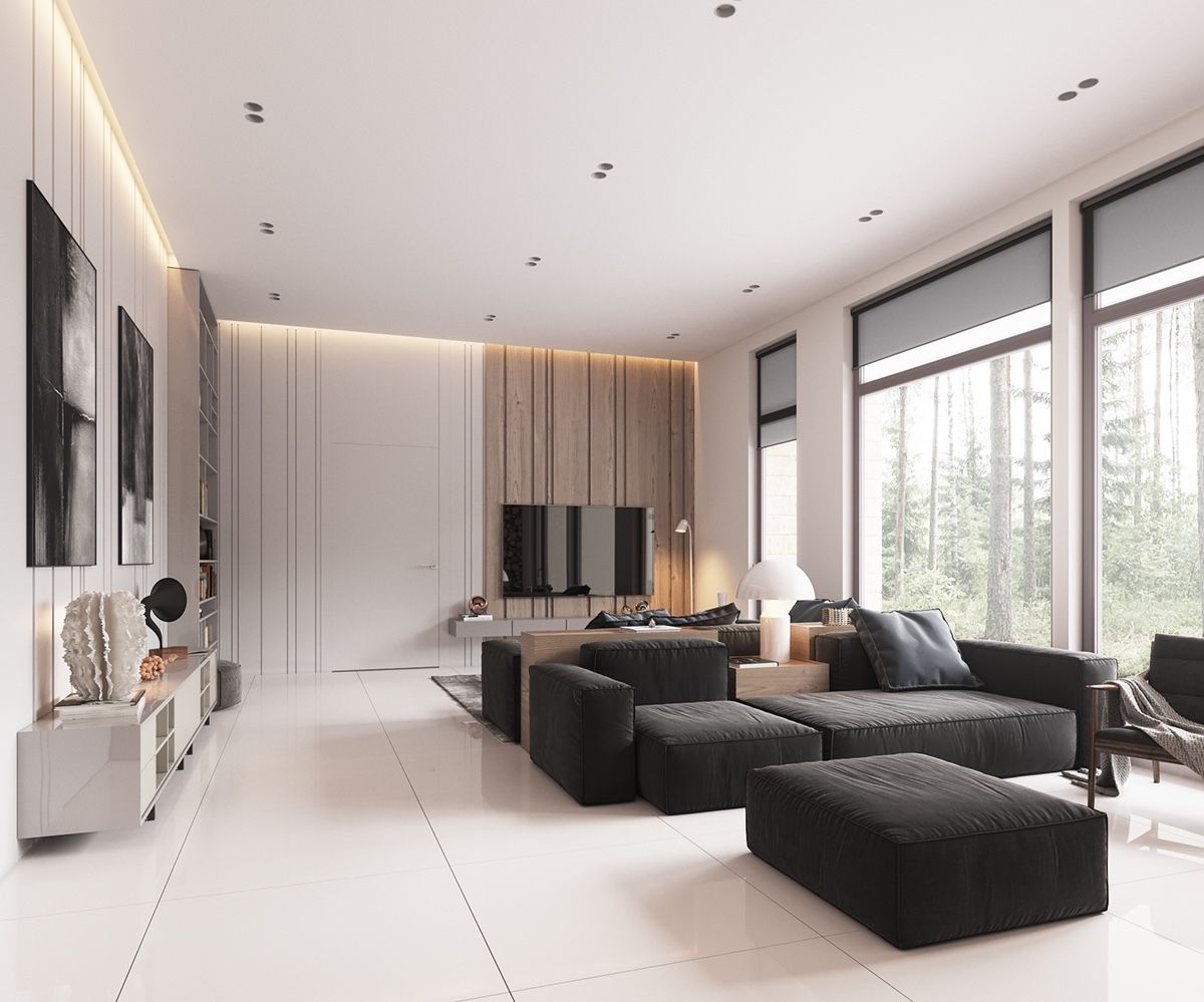 Minimalist Home Design With Muted Color Decor And Combining A Best Design Living Room Minimalist Inspiration Design