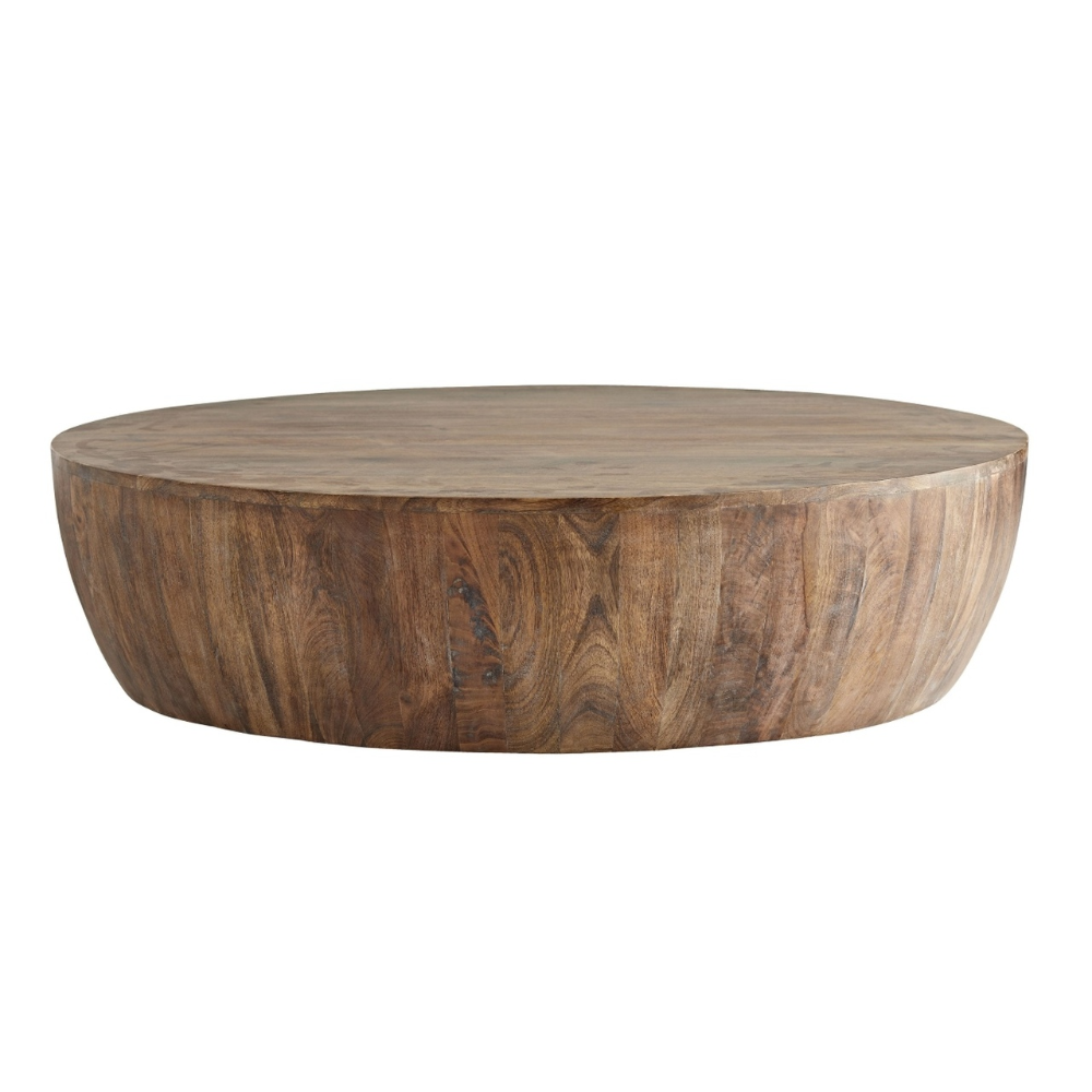 Jacob Cocktail Table 48 Drum Coffee Table Coffee Table Large Coffee Tables