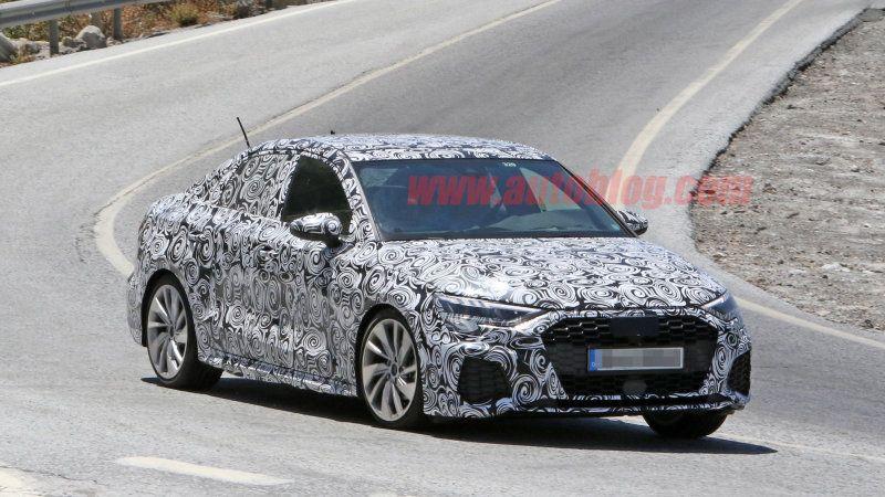 Next Generation Audi S3 A3 Spy Photos Audi Audi A3 Audi Sedan