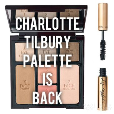 Did you miss it the first time? It's back! The Charlotte Tilbury Instant Look In A Palette.
