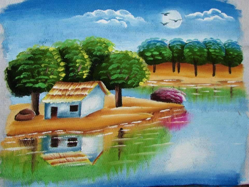 Veja Aulas Como Essas Em Meu Curso Online De Pintura Em Tecido