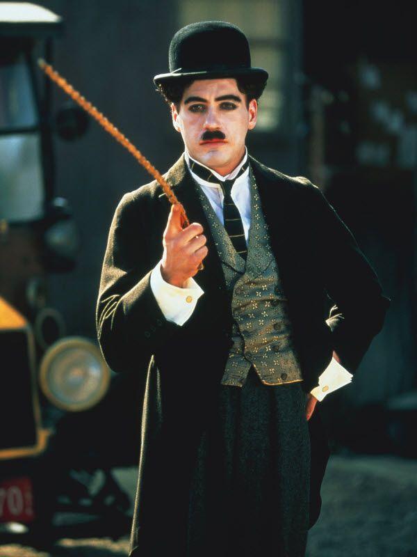 Charlie Chaplin (Robert Downey Jr.) / Chaplin | Robert downey jr, Robert downey jr chaplin, Downey junior