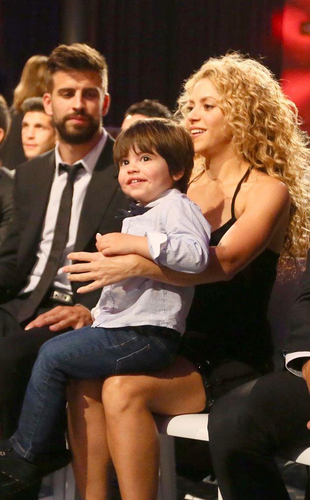 Shakira, Gerard Pique & Milan from The Big Picture: Today\'s Hot ...