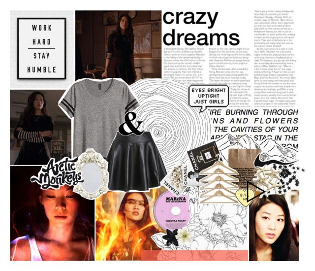 """""""Kira Yukimura"""" by x-jen-cozy-wolves-x ❤ liked on Polyvore featuring H&M, Assouline Publishing, ASOS, Clips and INC International Concepts"""