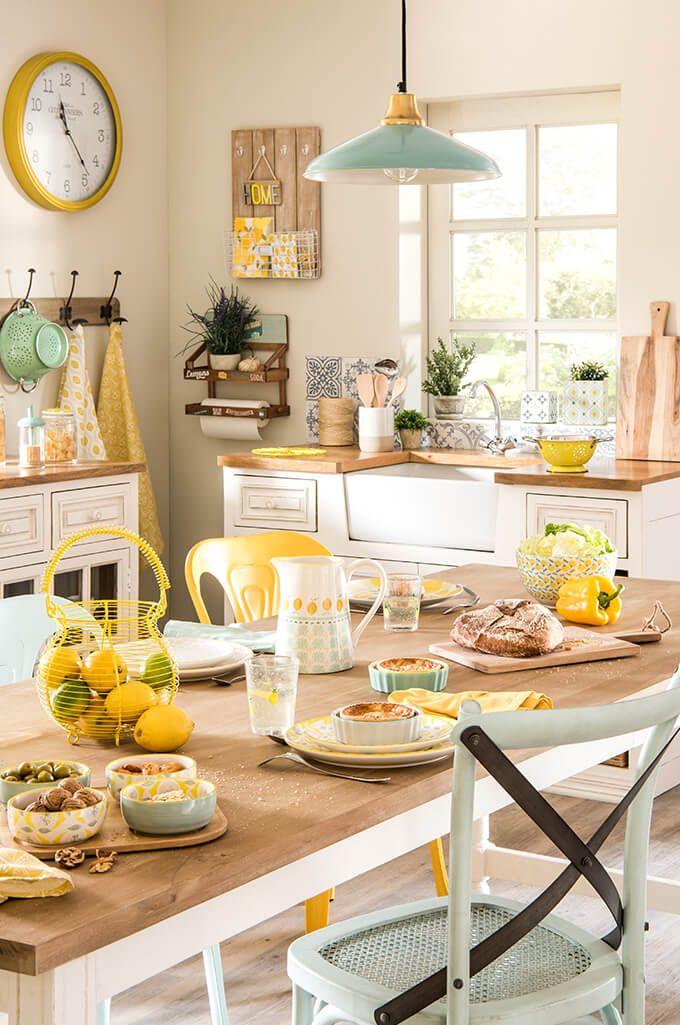Les styles déco de l\'été selon Maisons du Monde | Cucina, Spaces ...