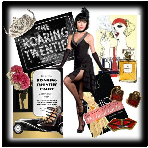 """Roaring 20's Party"" by maggiescorner on Polyvore"