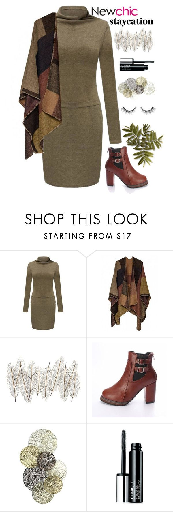 """""""Olive in the moment"""" by hevsyblue2 ❤ liked on Polyvore featuring Universal Lighting and Decor, Clinique, olive and staycation"""