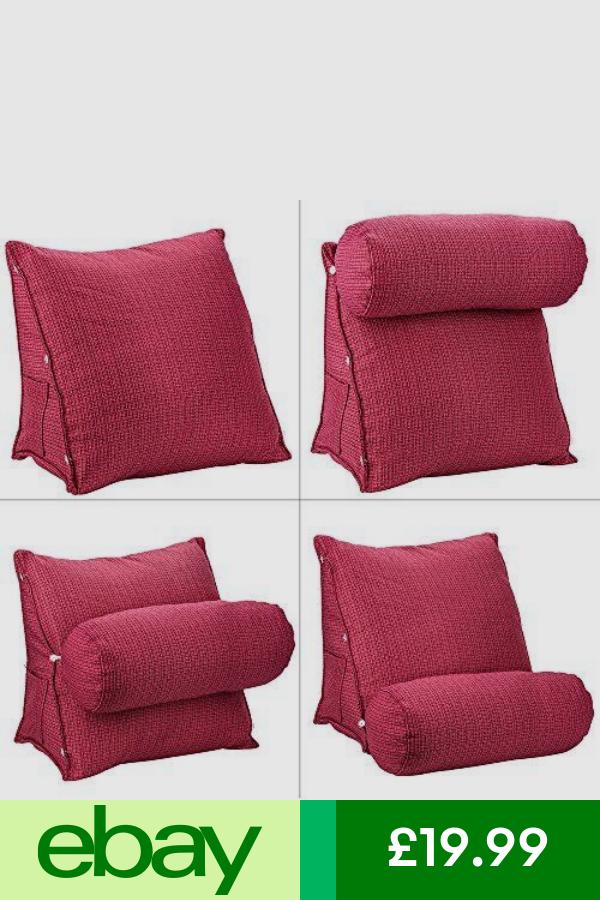 Uk Adjustable Back Wedge Cushion Sofa Bed Office Chair Rest Seat Support Pillow Podushki Svoimi Rukami Podushki Kresla Meshki