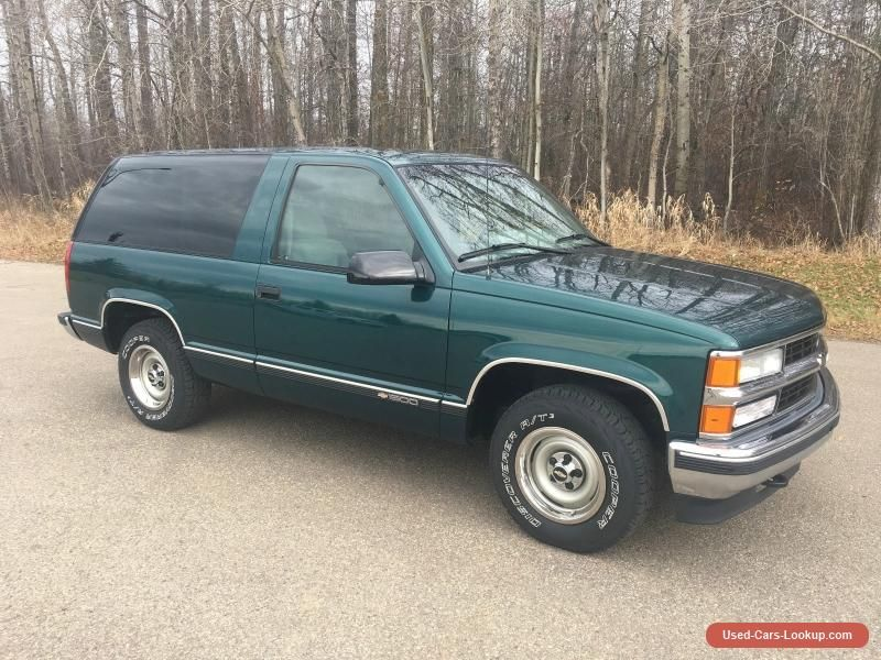 1996 Chevrolet Tahoe #chevrolet #tahoe #forsale #canada   Cars for ...