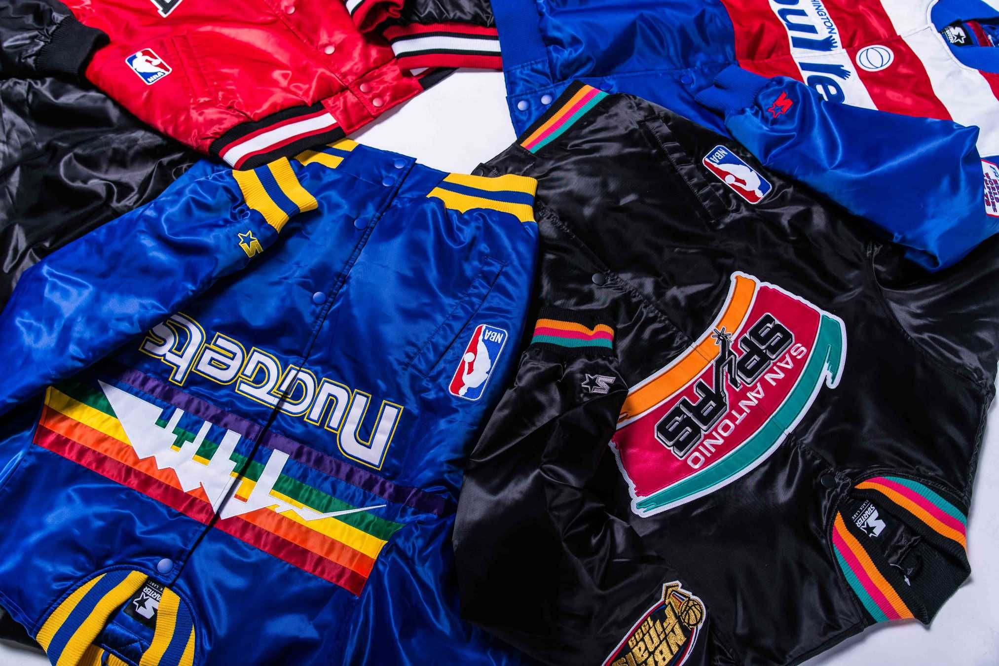 34dbc3aef DTLR Teams Up With Starter on a Throwback NBA Jacket Collection ...