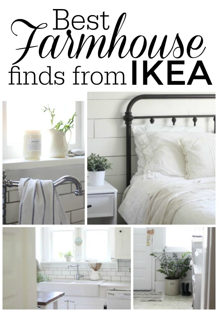 Best Farmhouse Finds From IKEA On Boone