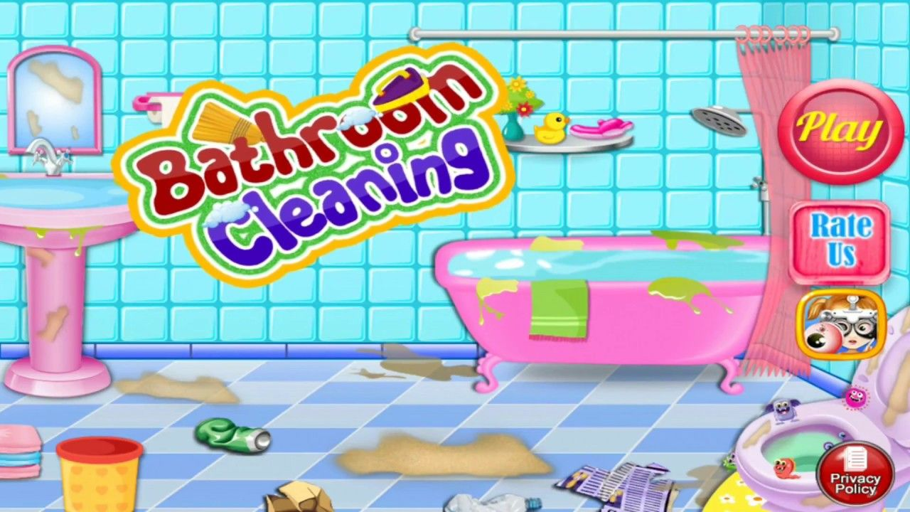 Bathroom Cleaning Girls Games Baby Games For Girls Best Kids