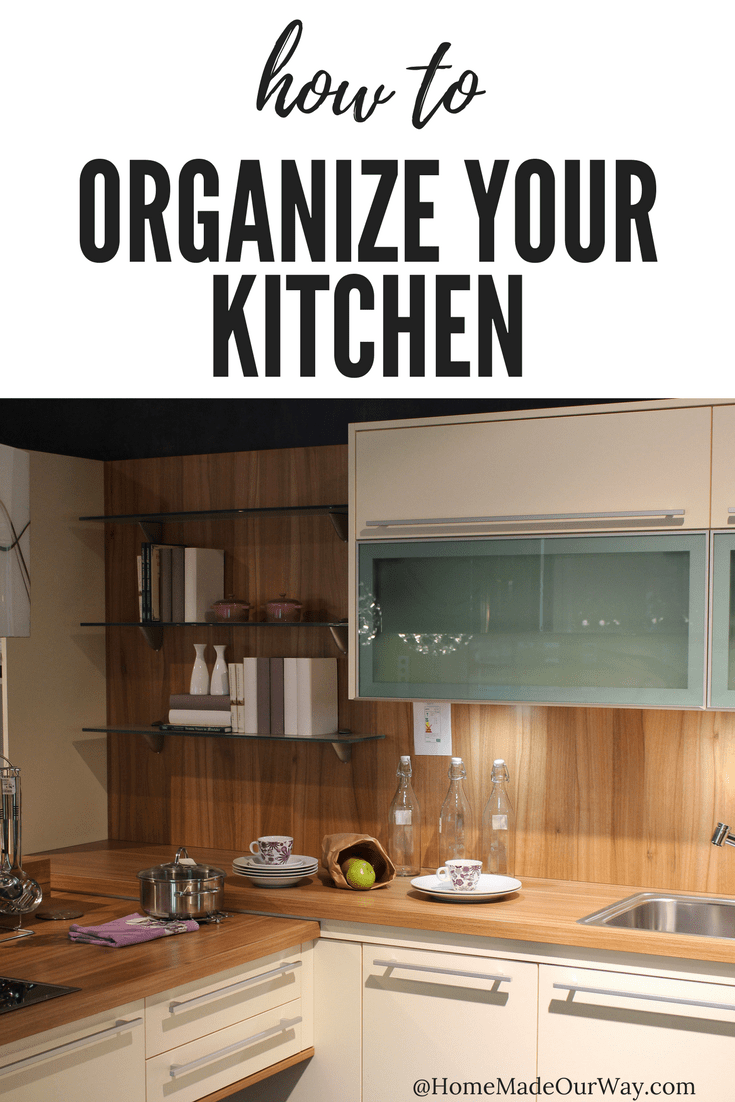 How to declutter and organize your kitchen cabinets and drawers