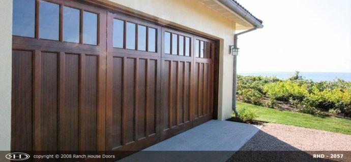 Craftsman Collection Garage Doors Custom Wood Garage Doors Wood Garage Doors Craftsman Door
