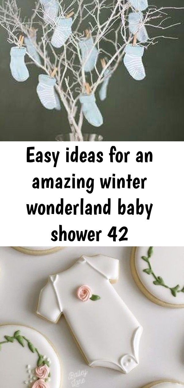 Easy ideas for an amazing winter wonderland baby shower 42 #winterwonderlandbabyshowerideas