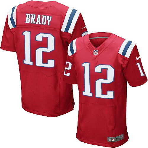 factory price 08f04 0c1e7 clearance red tom brady throwback jersey 99947 93457