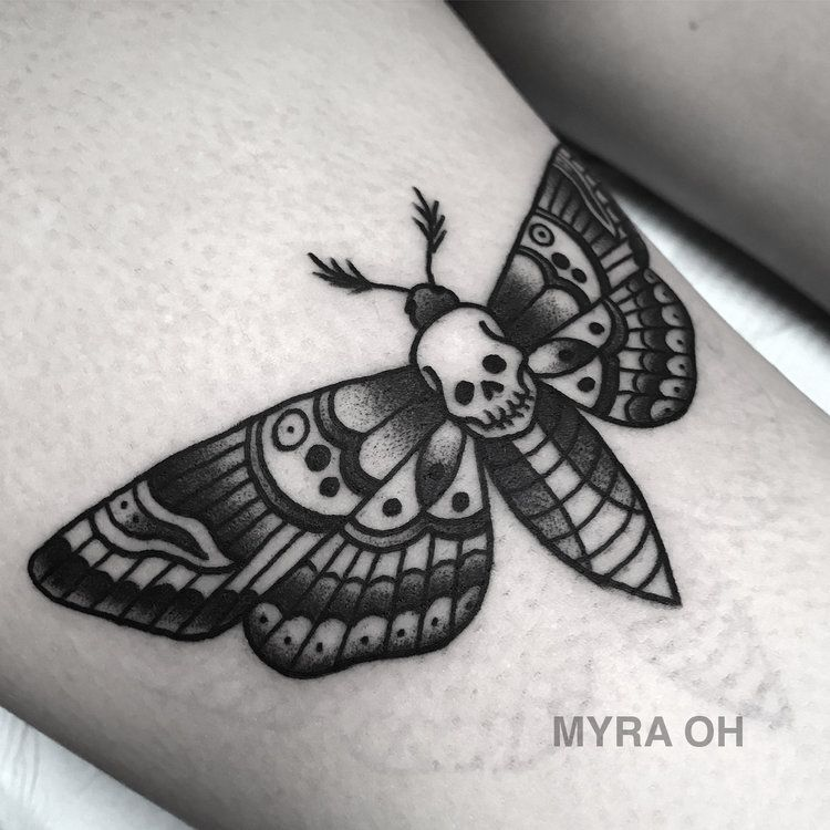 Img 0179 Jpg Moth Tattoo Traditional Tattoo Traditional Butterfly Tattoo