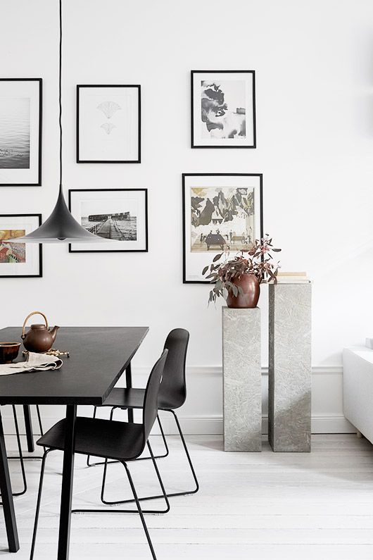 Dining area in scandinavian style home, what not to love about it? Are you looking for unique and beautiful art photo prints to create your gallery wall... Visit bx3foto.etsy.com