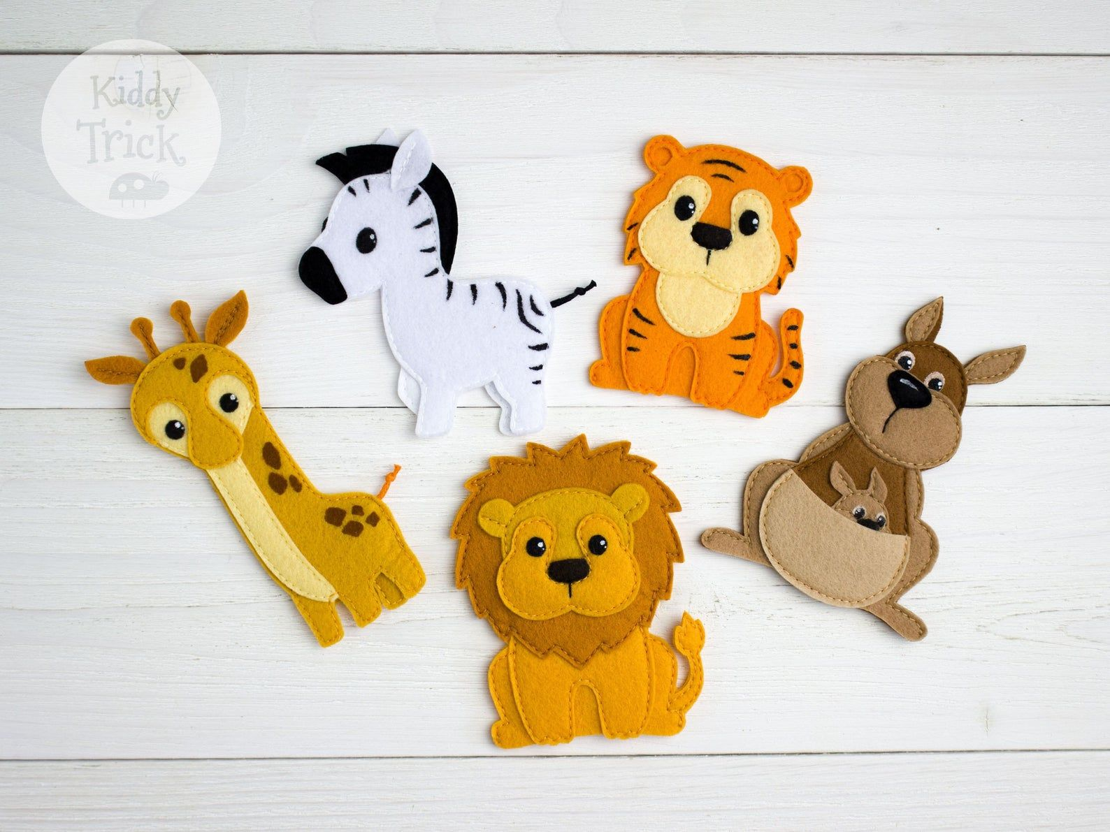 Photo of Finger puppets big set, 35 Finger animals, Felt animals, Finger toys, Pretend play, Travel toy, Woodland animal toys, Cusom finger puppets