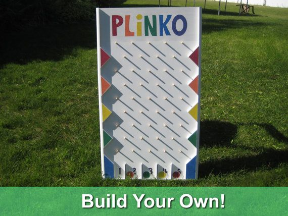 Plinko board pdf plans by stuffbyjeff on etsy gettin crafty plinko board pdf plans by stuffbyjeff on etsy solutioingenieria Choice Image