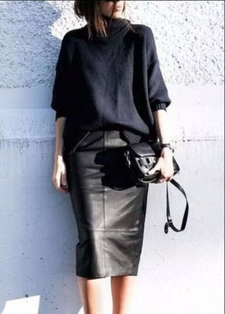 Trendy skirt leather pencil chic 22 Ideas