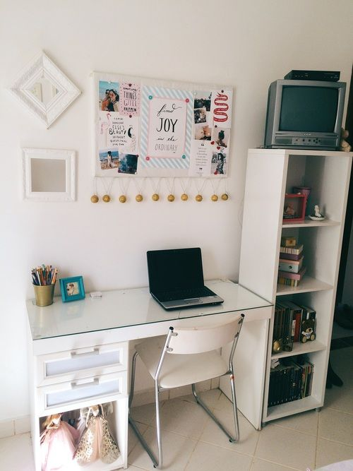 Art Desk, Bedrooms, Room Decor, Bedroom Ideas, Organize, Desks, Tables,  Bureaus, Bedroom