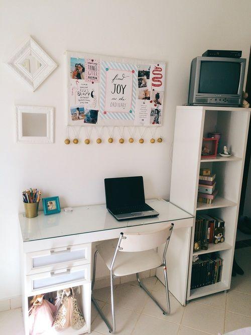 Pin by Maria Eduarda on Ideias para a casa Pinterest Art desk