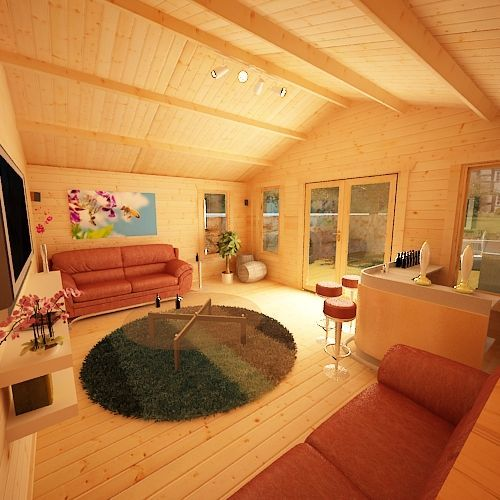 shere log cabins 44mm log cabin log cabins pinterest log