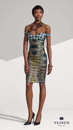Vlisco fabric and design.